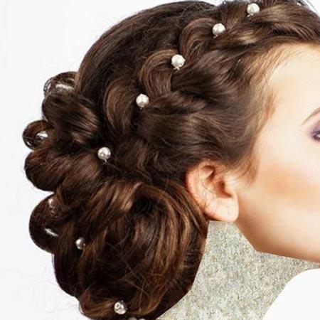 شیک ترین مدلهای موی شینیون تصاویر