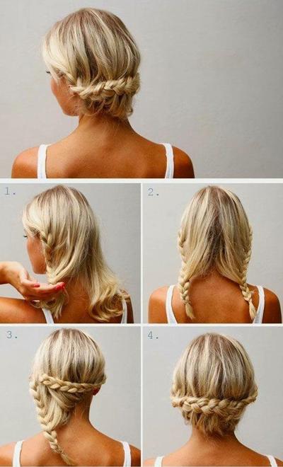 شینون موهای کوتاه