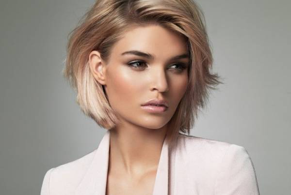 مدل موی کوتاه برای صورت های لاغر