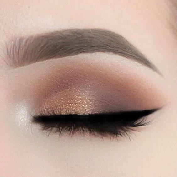 آرایش چشم پاییز و زمستان