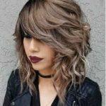 ترکیب رنگ موی دودی زیتونی